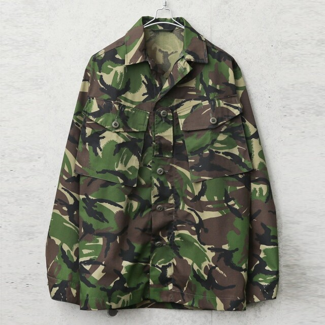 実物 新品 デッドストック イギリス軍 LIGHTWEIGHT COMBAT ジャケット DPMカモ