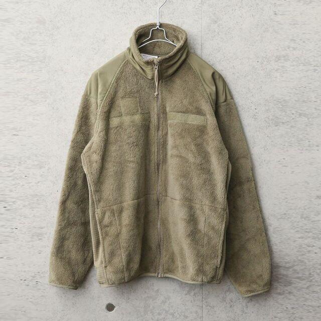 実物 USED 米軍 ECWCS Gen3 POLARTEC フリースジャケット COYOTE