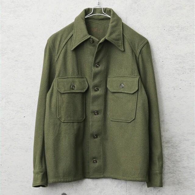実物 USED 米軍 ヴィンテージ ウールシャツ OG-108 前期型