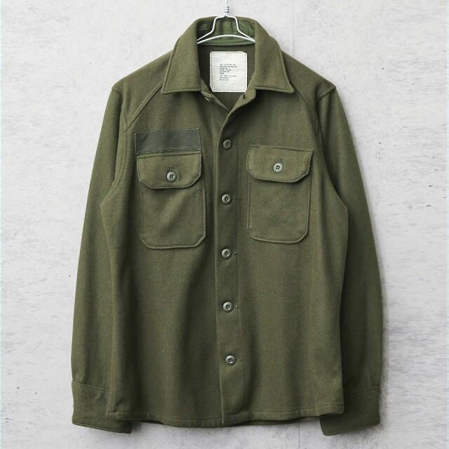 実物 USED 米軍 ヴィンテージ ウールシャツ OG-108 後期型