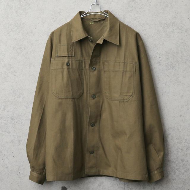 実物 新品 デッドストック チェコ軍 ユーティリティーワークジャケット