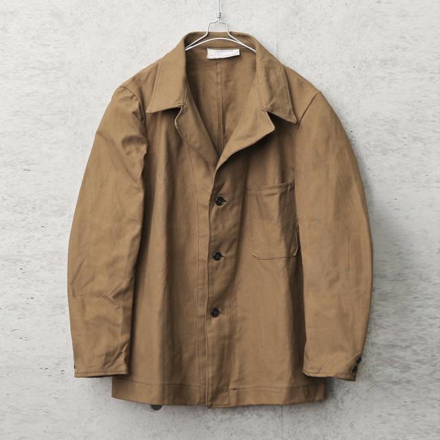 実物 新品 デッドストック イタリア軍 プリズナー ワークジャケット 1ポケット