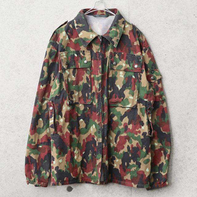 実物 USED スイス軍 M-83 フィールドジャケット