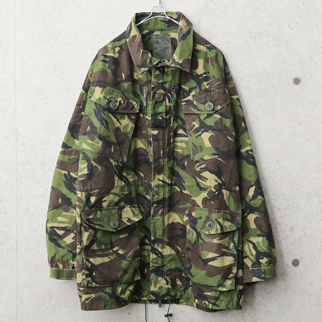 実物 USED イギリス軍 リップストップ スモックジャケット DPM CAMO