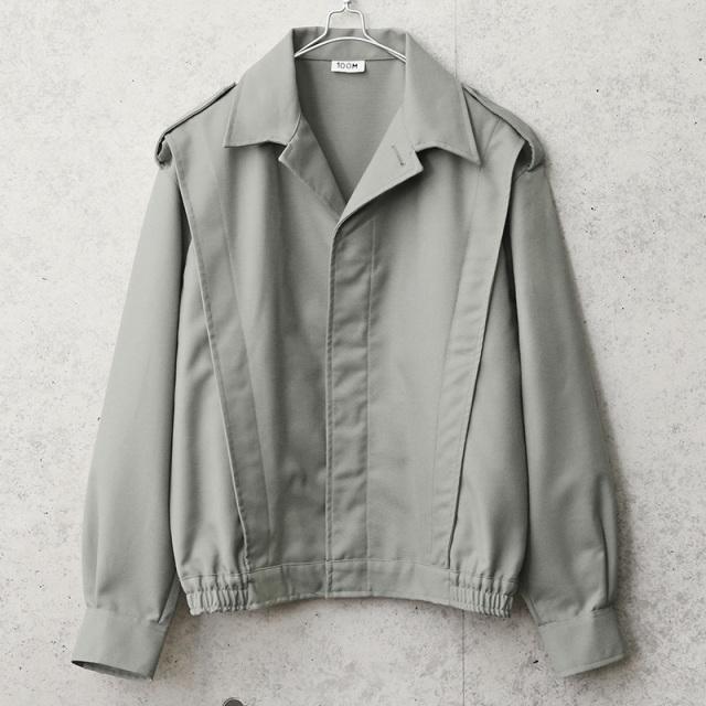 実物 新品 デッドストック フランス軍 ショートウィンドジャケット グレー