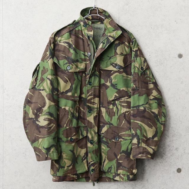 実物 USED イギリス軍 コンバット スモック フィールドジャケット DPMカモ