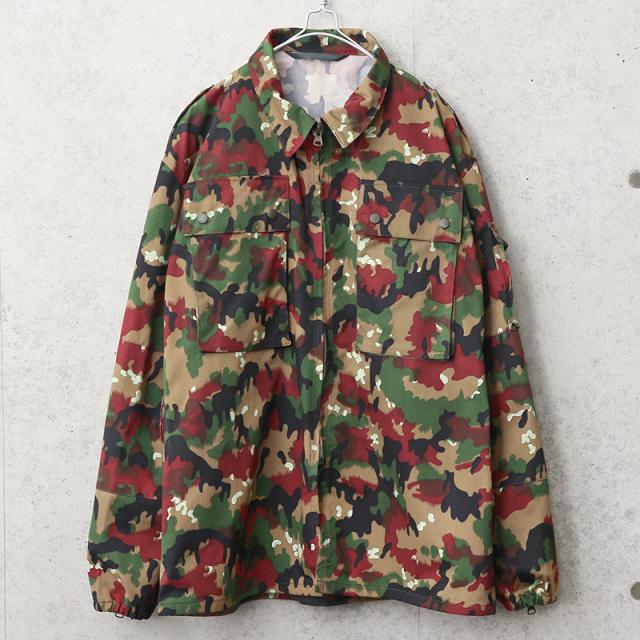 実物 新品 デッドストック スイス軍 M-83 フィールドジャケット