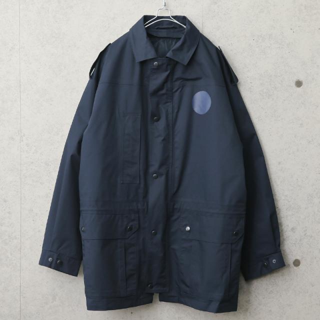 実物 新品 デッドストック オランダ軍 キルティングライナー付き フィールドジャケット NAVY