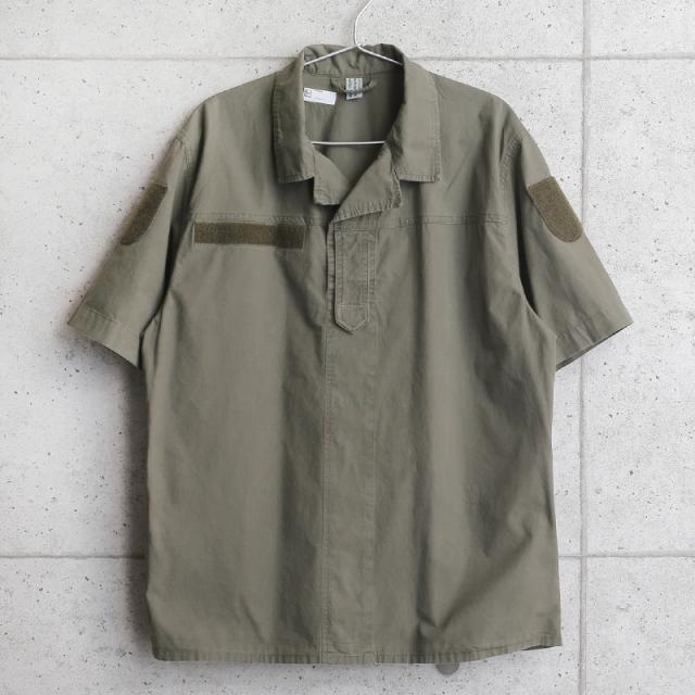 実物 USED オーストリア軍 プルオーバー ショートスリーブ フィールドシャツ