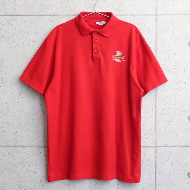 実物 USED イギリス ROYAL MAIL ロイヤルメール ポロシャツ