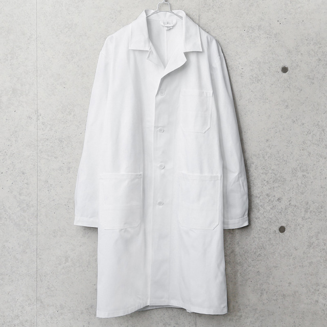 実物 新品 デッドストック チェコ軍 コットンツイル ワークコート ホワイト
