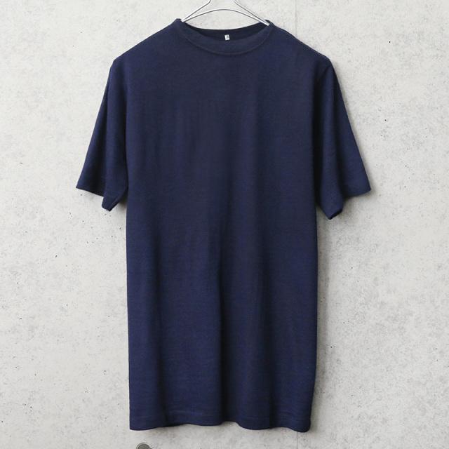 実物 新品 デッドストック イタリア海軍 ボートネック S/S Tシャツ