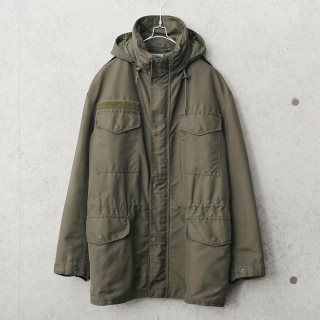 実物 USED オーストリア軍 ウォータープルーフ M-65 フィールドジャケット