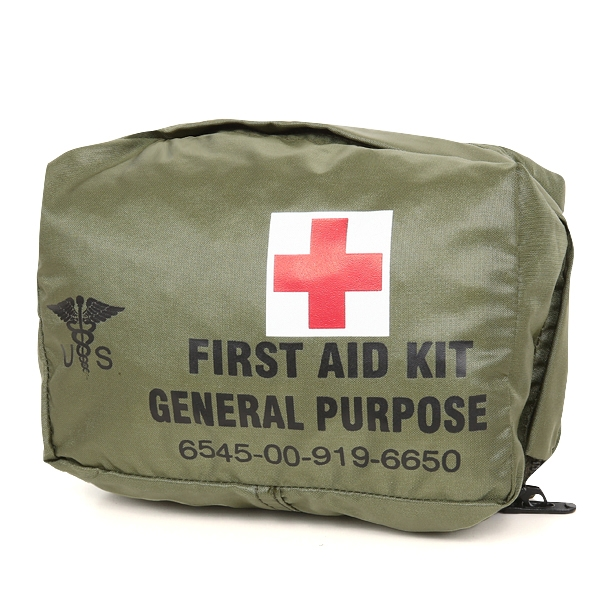 実物 新品 米軍 FIRST AID KIT GENERAL PURPOSE ポーチ
