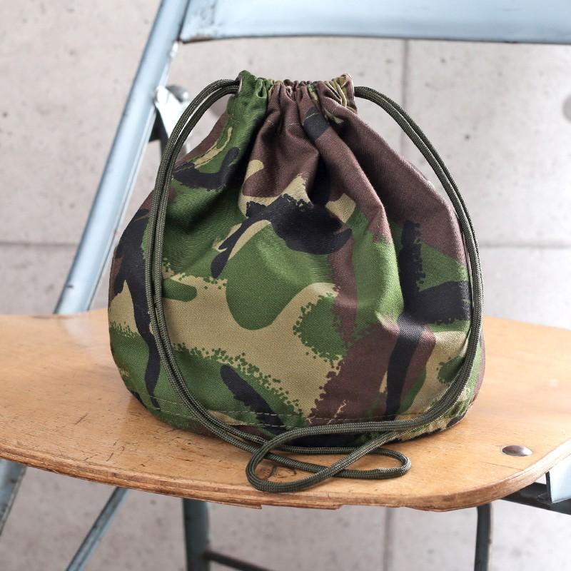 新品 イギリス軍 ライトウェイト DPMカモ リメイク エフェクツバッグ