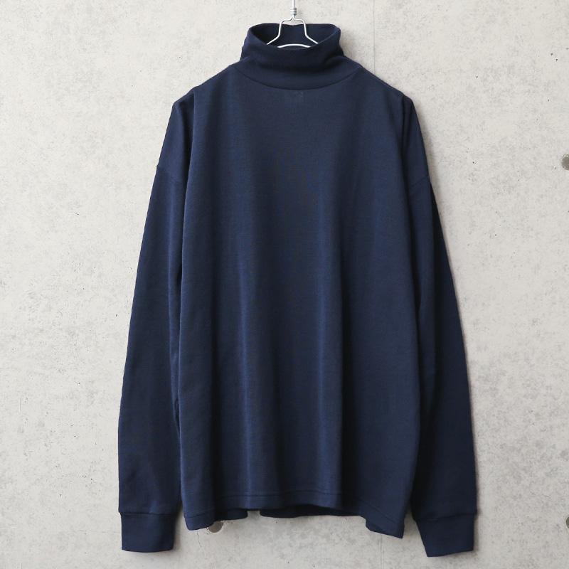 実物 新品 デッドストック フランス軍 FIRE PROOF モックネックシャツ