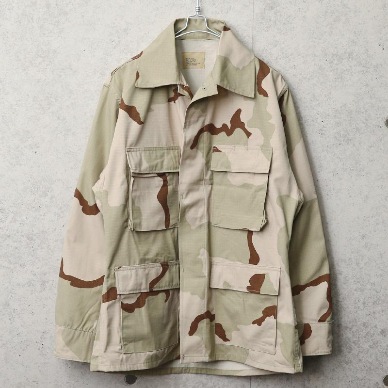 実物 新品 デッドストック 米軍 3カラーデザートリップストップ BDU ジャケット