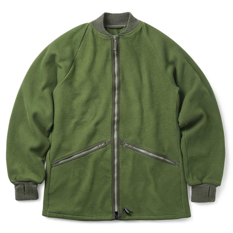 実物 USED イギリス軍 RIB フリースジャケット