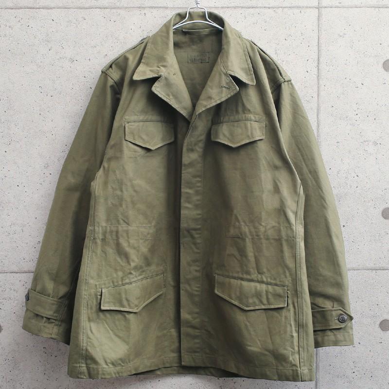 実物 新品 デッドストック フランス軍 M-47 フィールドジャケット 前期型 コットン製 #2