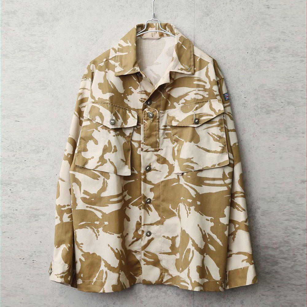 実物 新品 デッドストック イギリス軍 TROPICAL COMBAT ジャケット デザートDPMカモ