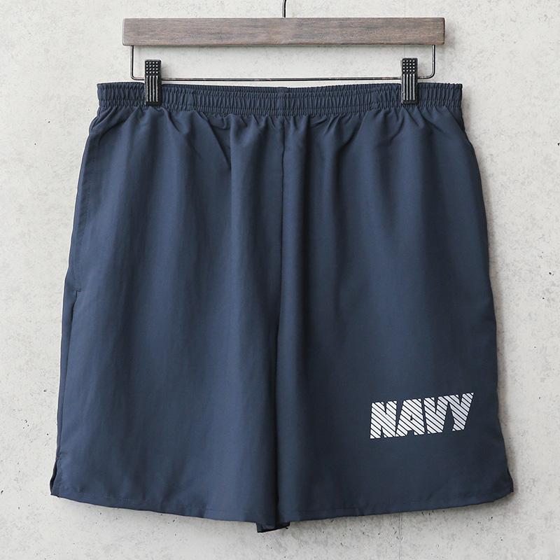 新品 米軍 U.S.NAVY NB社製 フィジカル トレーニングショーツ MADE IN USA