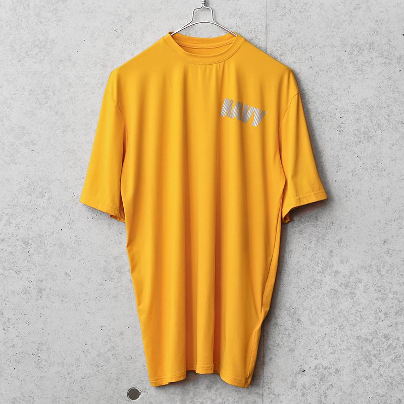 新品 米軍 U.S.NAVY NB社製 フィジカル トレーニング Tシャツ MADE IN USA