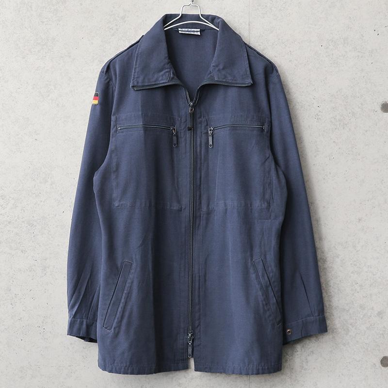 実物 USED ドイツ軍 ジップデッキジャケット