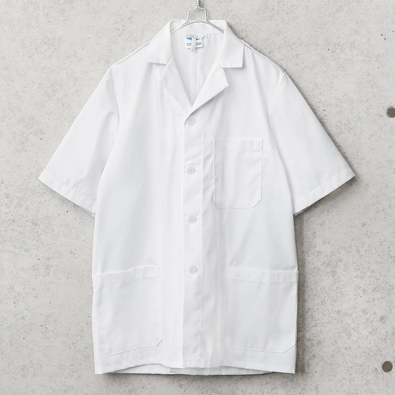 オランダ ORCON社製 オープンカラー ユーティリティ 半袖 シャツ