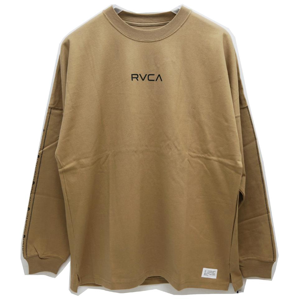 RVCA ルーカ ビッグシルエットロンT BALANCE L/S Tee AJ042-057