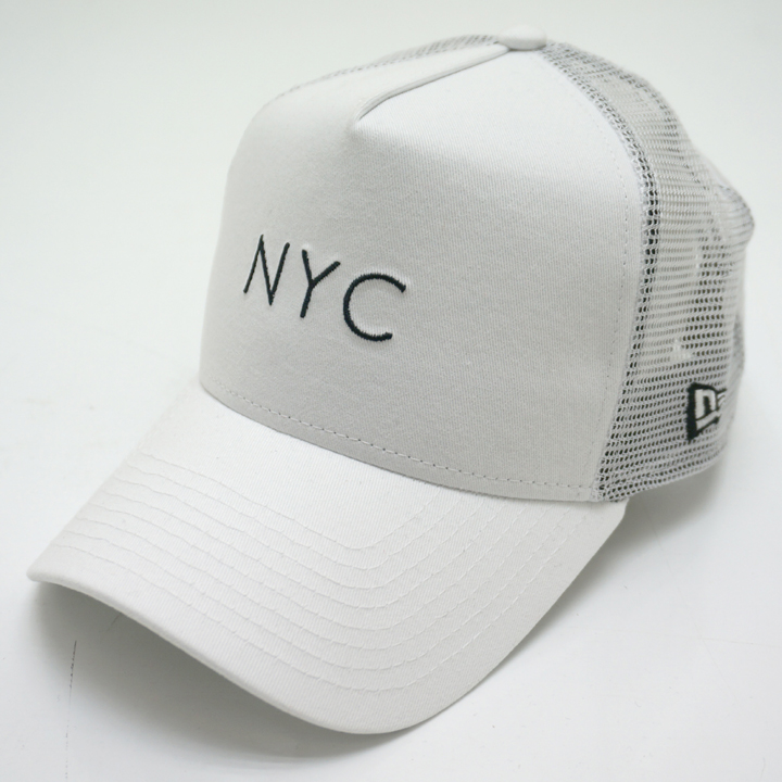 NEW ERA ニューエラ メッシュキャップ 9FORTY A-FRAME MESH CAP NYC - WHITE