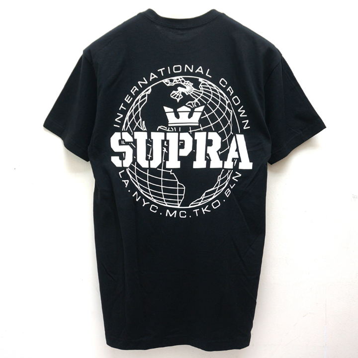 SUPRA スープラ Tシャツ INTERNATIONAL CROWN S/S Tee