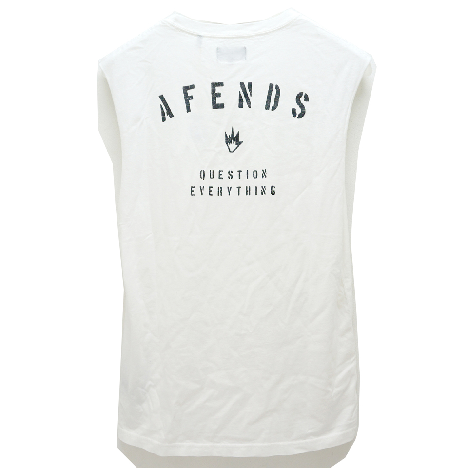 AFENDS アフェンズ STANDARD ISSUE BAND CUT Tee