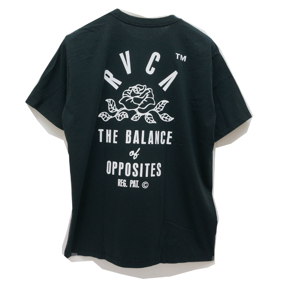 RVCA ルーカ Tシャツ ROSE STATE S/S Tee AJ041-236