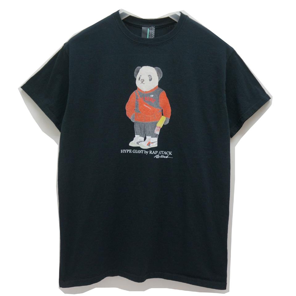 RAP ATTACK ラップアタック Tシャツ HYPE PANDA S/S Tee