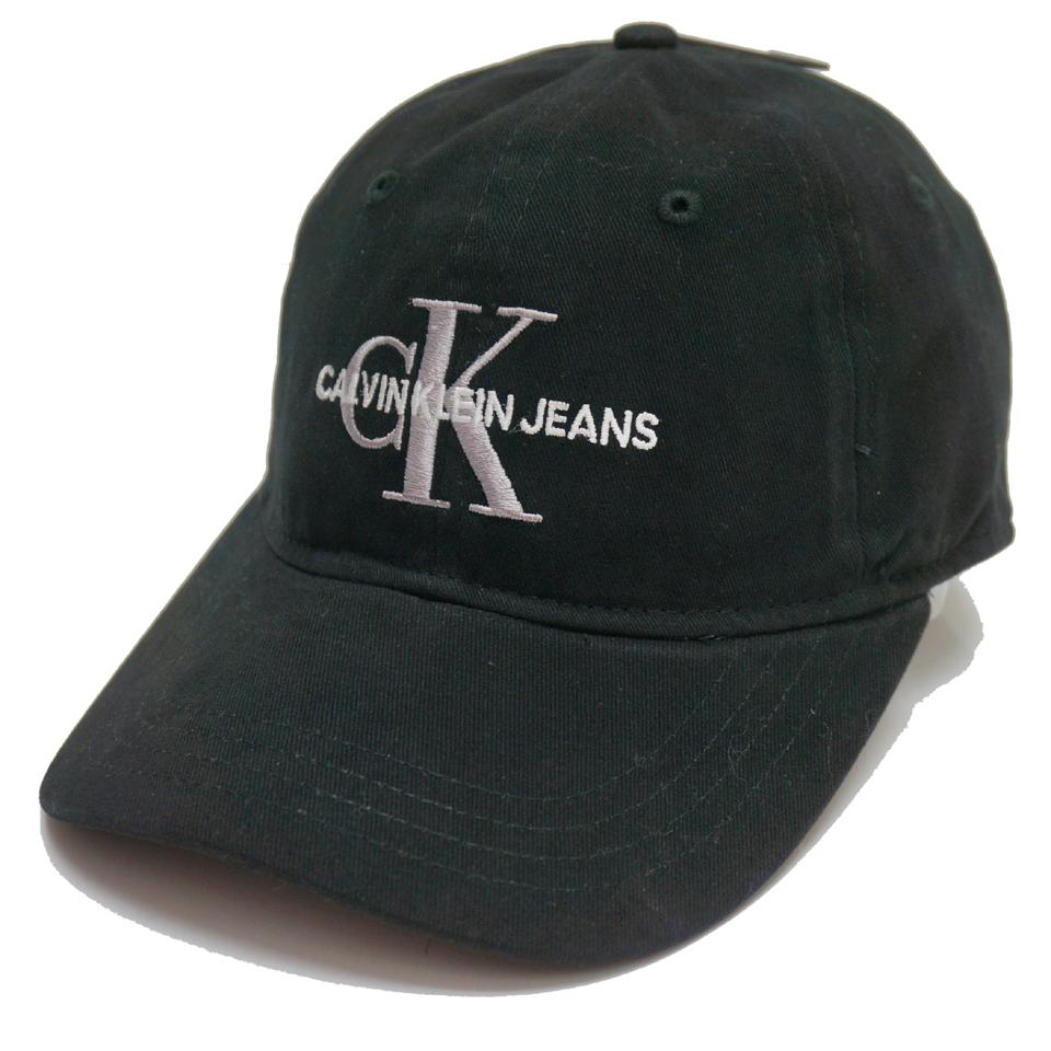 CALVIN KLEIN カルバンクライン キャップ CK LOGO 6PANEL CAP - BLACK