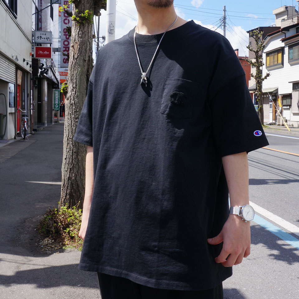 CHAMPION チャンピオン ビックTシャツ SAGARA POCKET BIG Tee