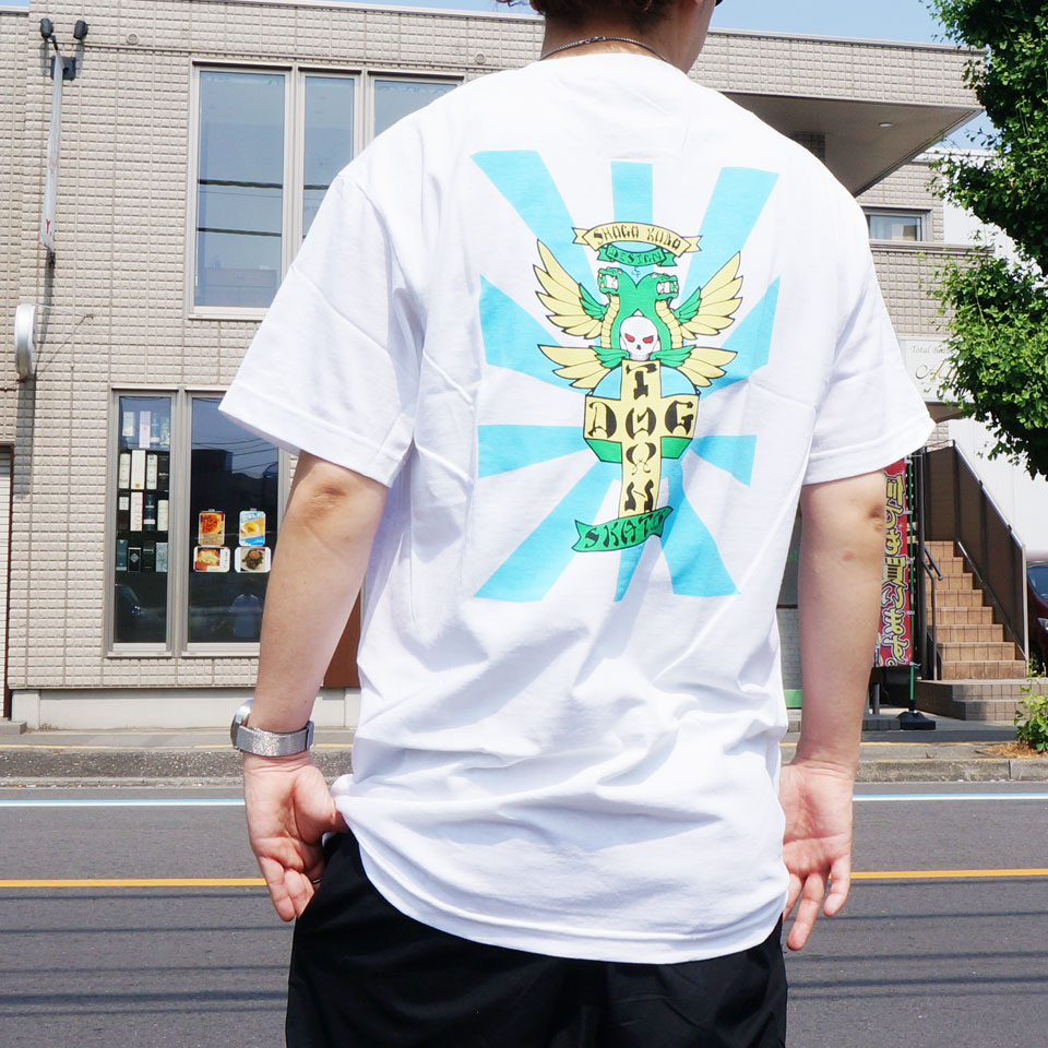 全2色 DOG TOWN ドッグタウン Tシャツ SHOGO KUBO  S/S Tee ショーゴクボ ブラック ホワイト