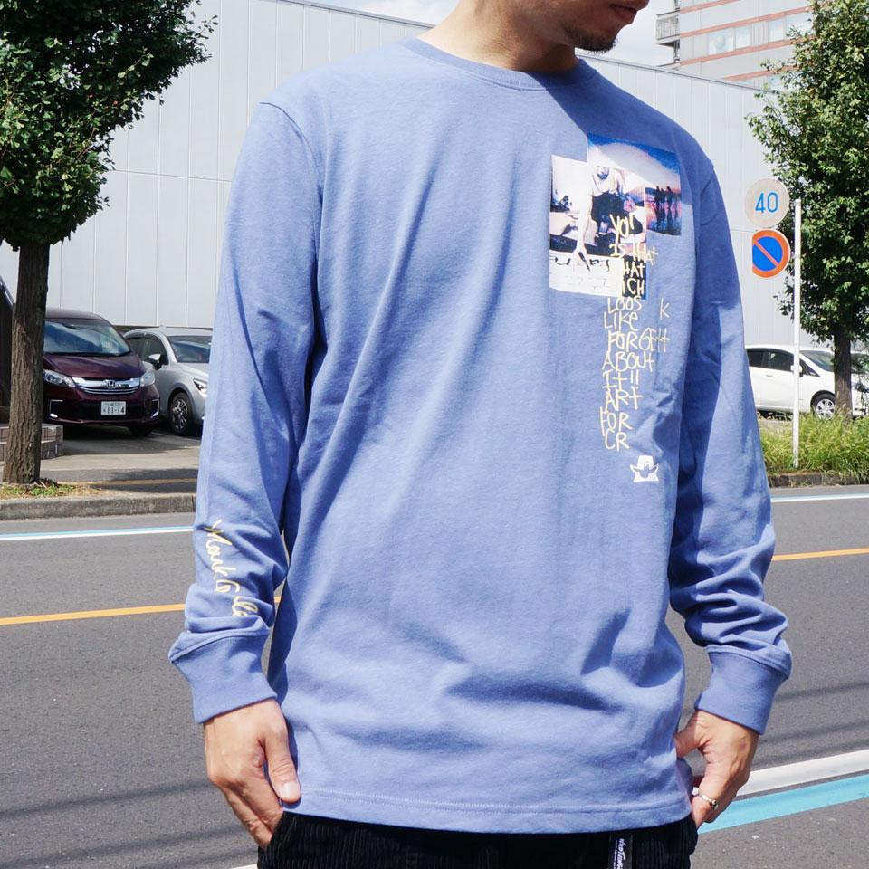 全3色 MARK GONZALES マークゴンザレス ロンT Tシャツ ART FOR L/S Tee ブラック ホワイト ブルー