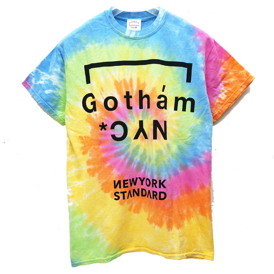 ゴッサム GOTHAM NYC Tシャツ GOTHAM NYC TIE DYE S/S Tee タイダイ