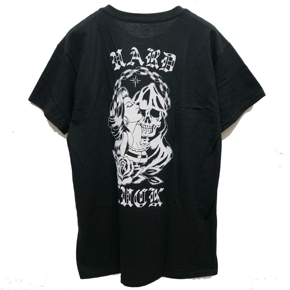 HARD LUCK ハードラック NOVIOS S/S Tee Tシャツ ブラック