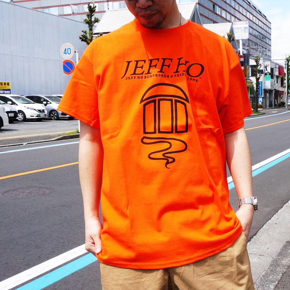 全2色 ジェフホー JEFF HO Tシャツ OG LOGO S/S Tee ブラック ネオンオレンジ 半袖