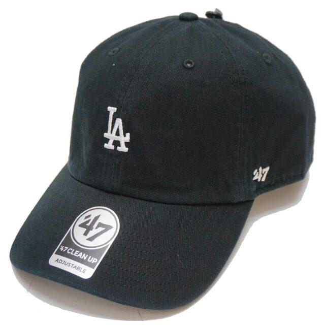 '47 フォーティーセブン ローキャップ 帽子 BASE RUNNER CAP LOS ANGELES DODGERS ロサンゼルスドジャース LA ブラック