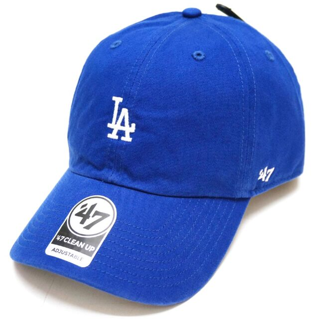 '47 フォーティーセブン ローキャップ 帽子 BASE RUNNER CAP LOS ANGELES DODGERS ロサンゼルスドジャース LA ロイヤルブルー