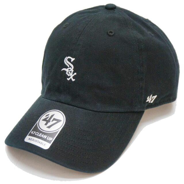 '47 フォーティーセブン ローキャップ 帽子 BASE RUNNER CAP CHICAGO WHITE SOX シカゴ ホワイトソックス ブラック