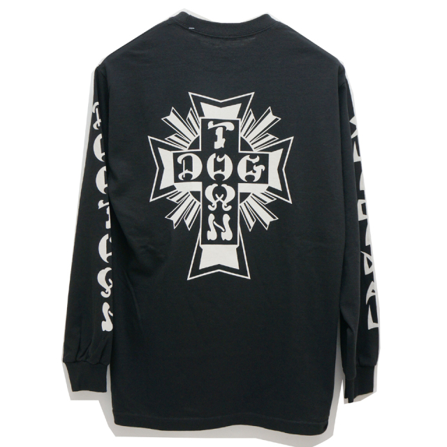 DOG TOWN ドッグタウン ロンT DTxST L/S Tee  - BLACK