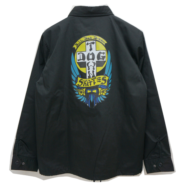 SALE セール DOG TOWN ドッグタウン コーチジャケット BULLDOG COACH JACKET - BLACK 【#SafeAtHome】