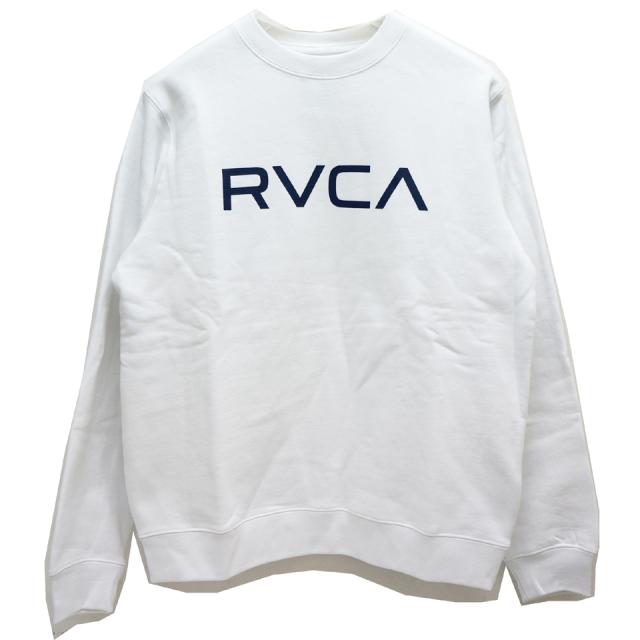 RVCA ルーカ クルーネックスウェット BIG RVCA CREW SWEAT AJ042-001