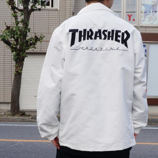 THRASHER スラッシャー MAG LOGO COACH JACKET TH5150