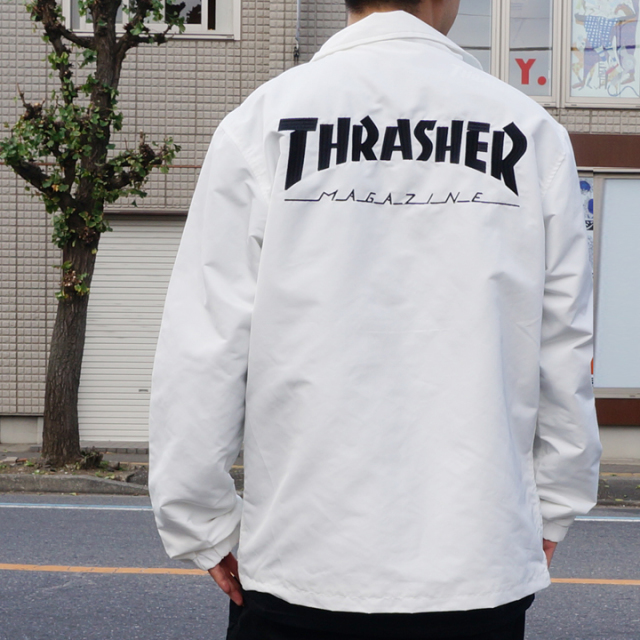 SALE セール THRASHER スラッシャー MAG LOGO COACH JACKET TH5150
