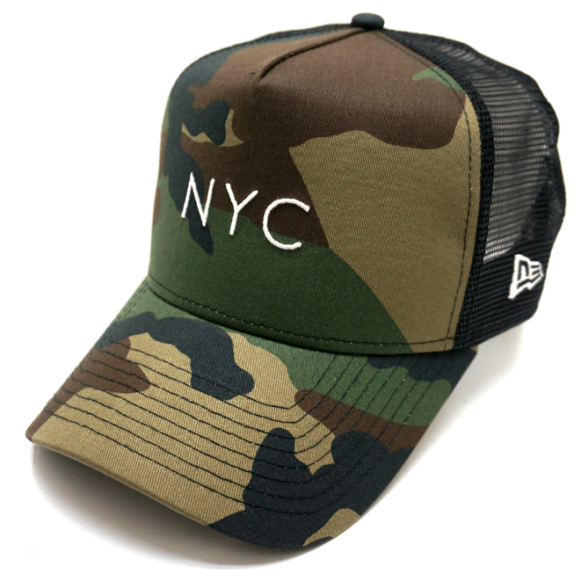 NEW ERA ニューエラ メッシュキャップ 9FORTY A-FRAME MESH CAP NYC - CAMO